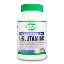 جلوتامين 500 ملغم 90 كبسول Organika L-GLUTAMINE