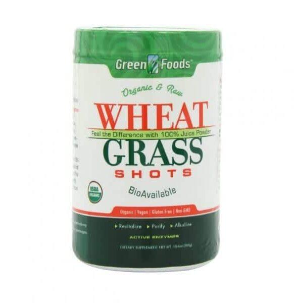 عشبة القمح العضوي Green Food Wheat Grass 300 g