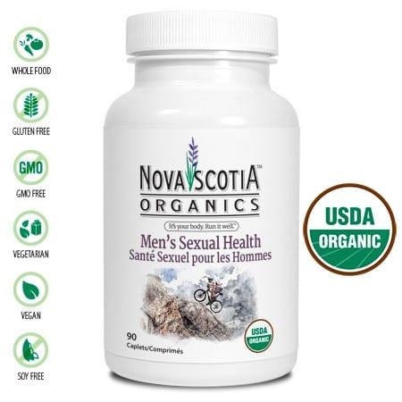 الصحة الجنسية للرجال Nova Scotia Organics Men's Sexual Health