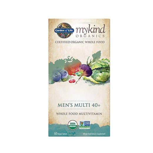 40+ملتي فيتامين اورغانغ للرجال Garden of Life mykind Organics Men's Multi 40+