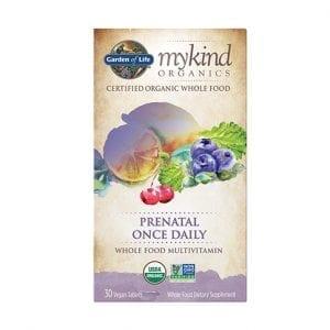 ملتي فيتامين اورغانغ للحوامل Garden of Life mykind Organics Prenatal Multi
