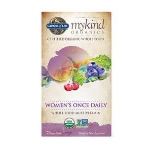 ملتي فيتامين اورغانغ للنساء حبة يوميا Garden of Life Women's Once Daily Multivitamin