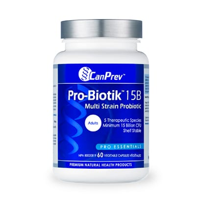 بروبيوتك 15 مليار خلية حية CanPrev Pro-Biotik™ 15B 60 Cap