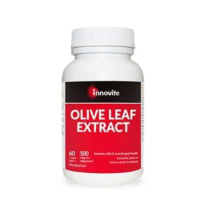 مستخلص أوراق الزيتون Innovite Olive Leaf Extract 500mg 60Cap