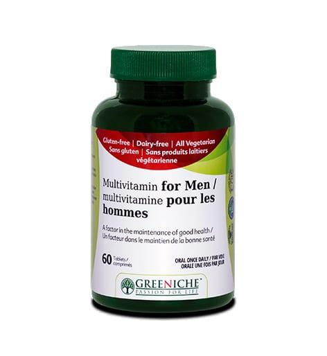 ملتي فيتامين للرجال Greeniche Multivitamin for Men 60 tab
