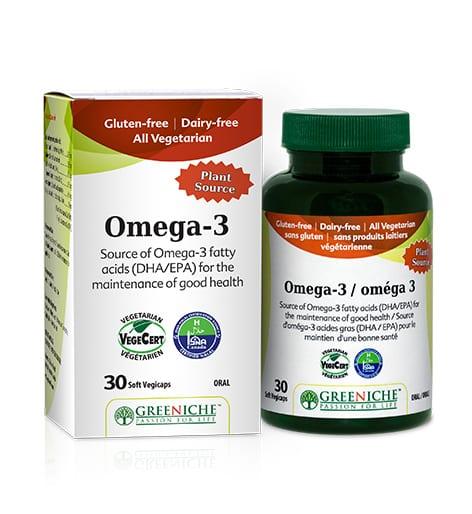 أوميغا 3 النباتي من فيتامينيا