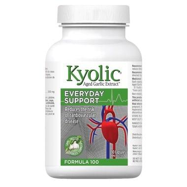 مستخلص الثوم المعمر بدون رائحة Kyolic Aged Garlic Extract Formula 100
